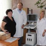 Бориспільська ЦРЛ отримала новенький УЗД-апарат вартістю майже мільйон гривень