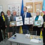 У Борисполі погасили марку, присвячену тисячоліттю міста