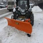 Якщо Бориспіль засипле снігом,  міські вулиці розчищатимуть близько 15 одиниць техніки