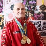 Волейболіст учетверте став чемпіоном України з важкої атлетики