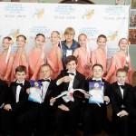Дипломи лауреатів від «Білого лелеки»