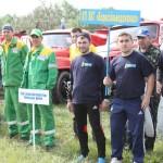 Пожежники Бориспільщини демонстрували, на що здатні