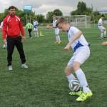 Футболіст Владислав Ващук тренував дітей Бориспільщини