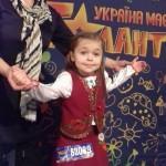 Маленька зірочка з Борисполя славить е місто на всю Україну