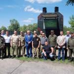 Герої не вмирають: у військовій частині Національної гвардії України висадили Алею пам'яті