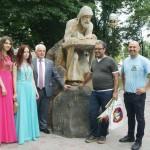 У Борисполі встановили пам'ятник Нестору Літописцю