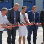 Посол Франції в Україні відкрила нові складські приміщення в Дударкові