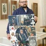 Колажі бориспільського історика покажуть на столичній виставці «Історія на горищі»