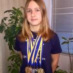 Плавання: наша Софія – чемпіонка України