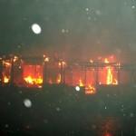 Замерзла вода: в Іванкові горів будинок, а пожежники з сусідніх сіл не могли виїхати