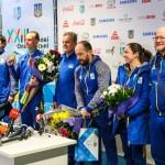 «Бориспіль» першим зустрів олімпійського чемпіона Абраменка