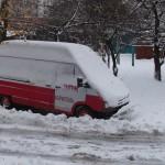 «Гаражне питання»: бориспільські рятувальники-добровольці навчаються у США, а їх авто зимує в заметах