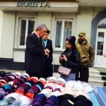 Вилучили «бюстики» та розігнали перекупників: у Борисполі знову взялися за стихійників