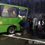 Масштабне ДТП біля Борисполя: тяжко травмована пасажирка