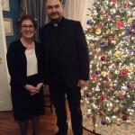 Священик з Борисполя побував на різдвяному прийомі у посольстві США