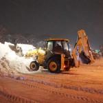 Комунальники у Борисполі розчищали сніг у цілодобовому режимі