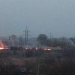 Бориспіль у вогні