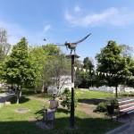 Птах Щастя та Жаба Бориспільська: на Алеї мистецтв з'явились нові фігури