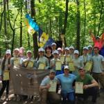 Обласні змагання з пішохідного туризму: бориспільці стали абсолютними чемпіонами