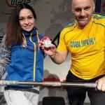 Бориспілька здобула «срібло» на Чемпіонаті світу з класичного жиму лежачи в Японії
