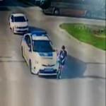 У Борисполі авто патрульних збило на переході дитину: правоохоронцю оголосили догану