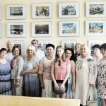 Презентація мистецьких виставок у Будинку уряду України