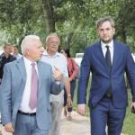 Михайло Бно-Айріян вдруге відвідав Бориспіль: деревами задоволений, а лікарнею – ні