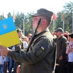 Новобранці Міжнародного центру НГУ присягнули на вірність Українському народові