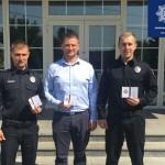 Затримали підозрюваного у вбивстві за півгодини: троє патрульних з Борисполя отримали відзнаки