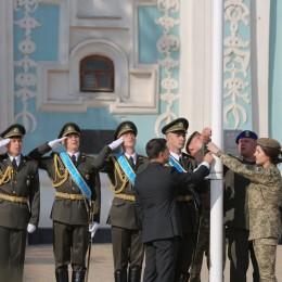 фото Дмитро Юрченко_підняття прапора1