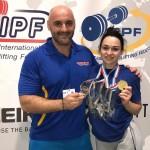 Класичний жим лежачи: бориспільська здобула срібло на Чемпіонаті Європи