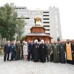 Митрополит Епіфаній відвідав Бориспіль і освятив каплицю для прикордонників