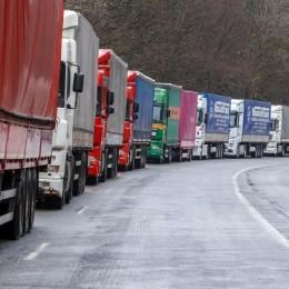 вїзд вантажівок