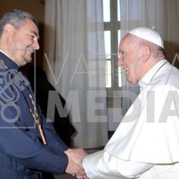 шабан зустрівся з папою