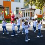 Яскраві малюнки, сучасні плити і флешмоб: у Борисполі відкрили оновлений «Теремок»