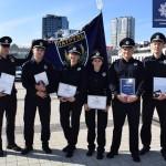 За захист прав і свобод: бориспільські патрульні отримали нагороди