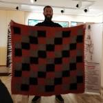 Важлива історична подія: колекція бориспільського музею поповнилась реконструйованим скіфським килимом