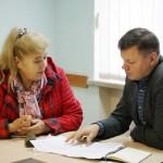 Зе!депутат провів прийом у Борисполі: про що йшлося