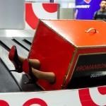 У «Борисполі» пасажири помітили валізу, з якої стирчали жіночі ноги