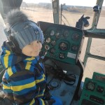 Авіатори здійснили мрію важкохворого Кирилка