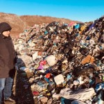 Нардеп Бунін відвідав незаконне сміттєзвалище біля Щасливого: реакція