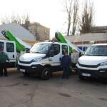 Швидкий клієнтський сервіс: Київобленерго закупив нові автовишки для ремонтних робіт на повітряних лініях