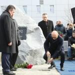 У «Борисполі» заклали пам'ятний камінь жертвам авіакатастрофи в Ірані