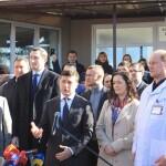 ЗеВізит до Борисполя: перевірка ремонту лікарні, нова акція від Годунка та незручне запитання про обсервацію