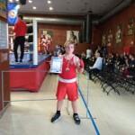 Бокс: бронзова медаль, грамота і подарунок