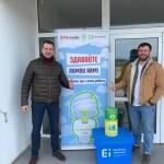 Екоакція у Горі: збирали люмінесцентні лампи та термометри