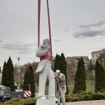 У Борисполі почали встановлювати пам'ятник Чубинському
