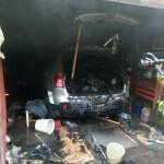 У Борисполі чоловік ледь не загинув у власному гаражі