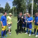 Чемпіонат з міні-футболу серед команд ветеранів Бориспільщини:  першість отримала команда з Борисполя