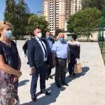 Голова КОДА у Борисполі:  Василь Володін особисто перевірив пункт проведення ЗНО